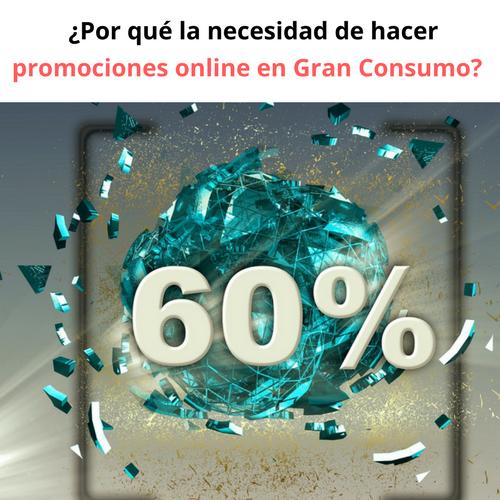 ¿Por qué es necesario hacer promociones online para Gran Consumo_