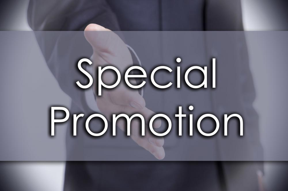 special-promotion-business-concept